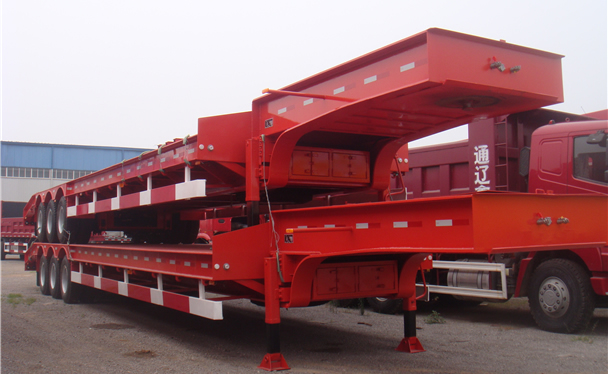 Gooseneck Flatbed Trailer wide, heavy, weight, length