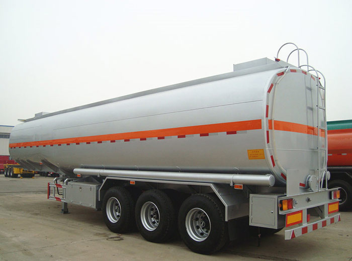 430000 liters crude oil tank trailer