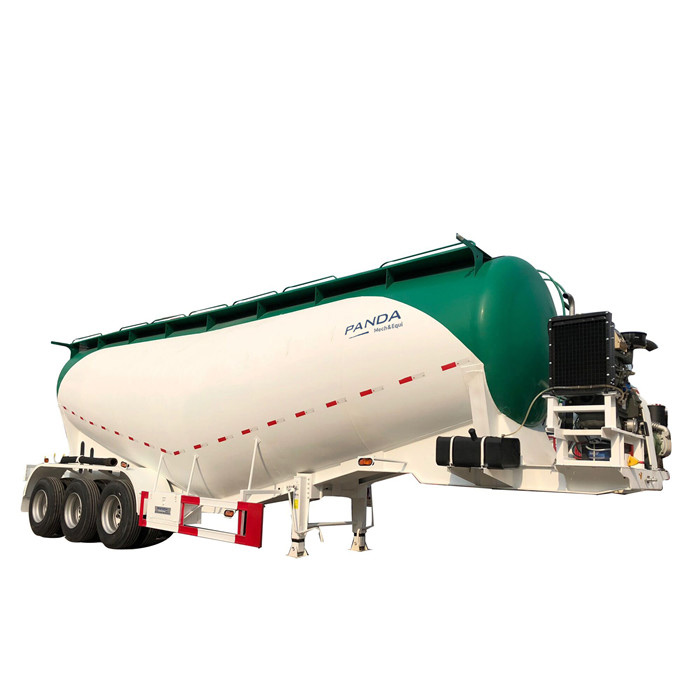How to discharge and operate a powder tanker?