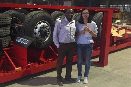Welcome India Clients check for Lowbed Trailer