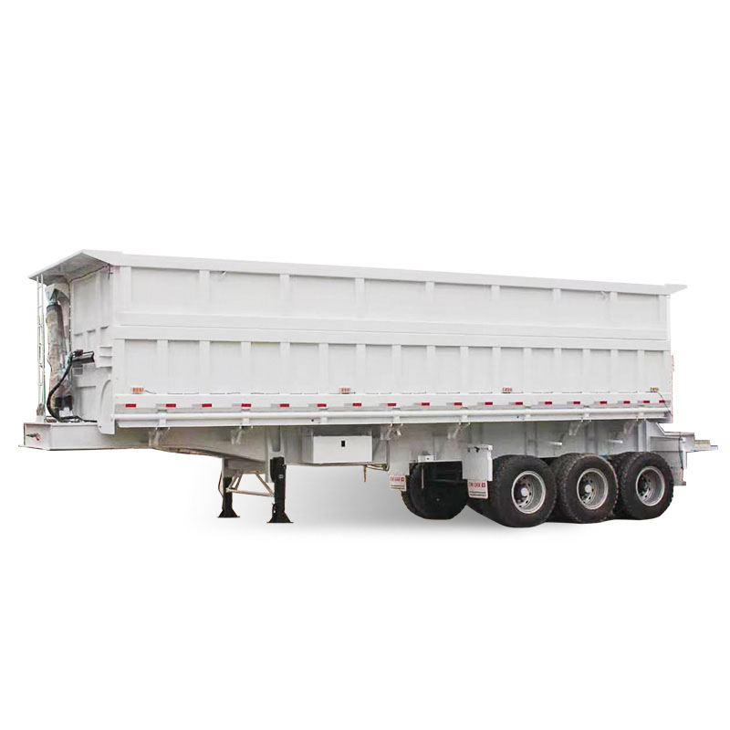 grain tipper semi trailer