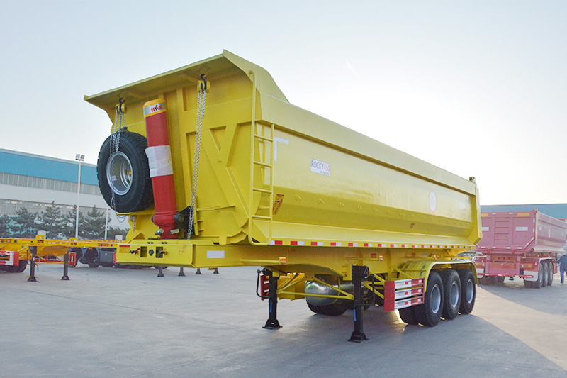 tipper semi trailer capacity