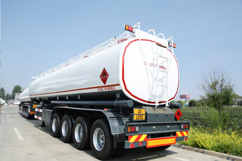 How many Litres is a fuel tanker,
