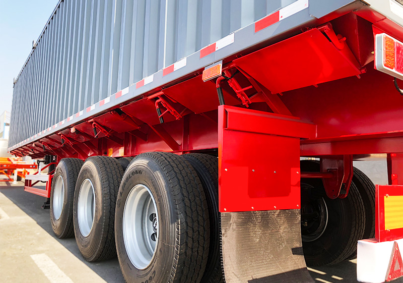 Grain semi trailer