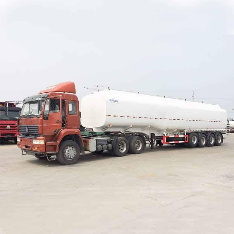 60000l 4axle tanker trailer