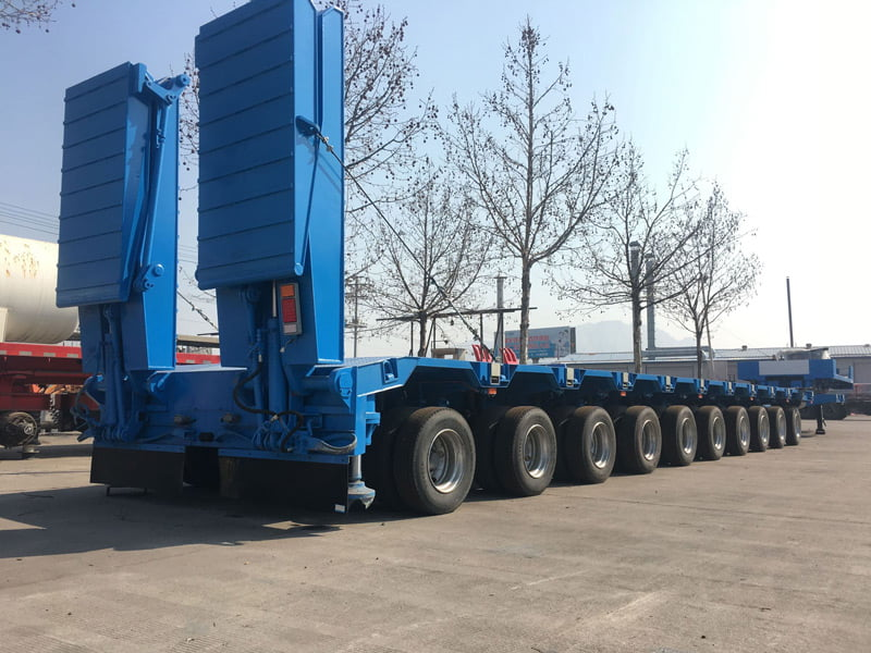 10 axle lowbed trailer