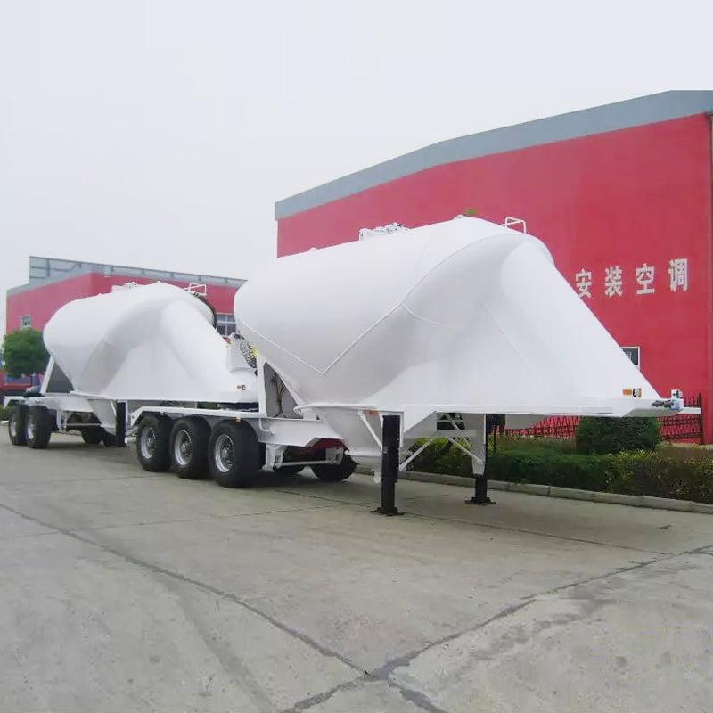b double cement trailer