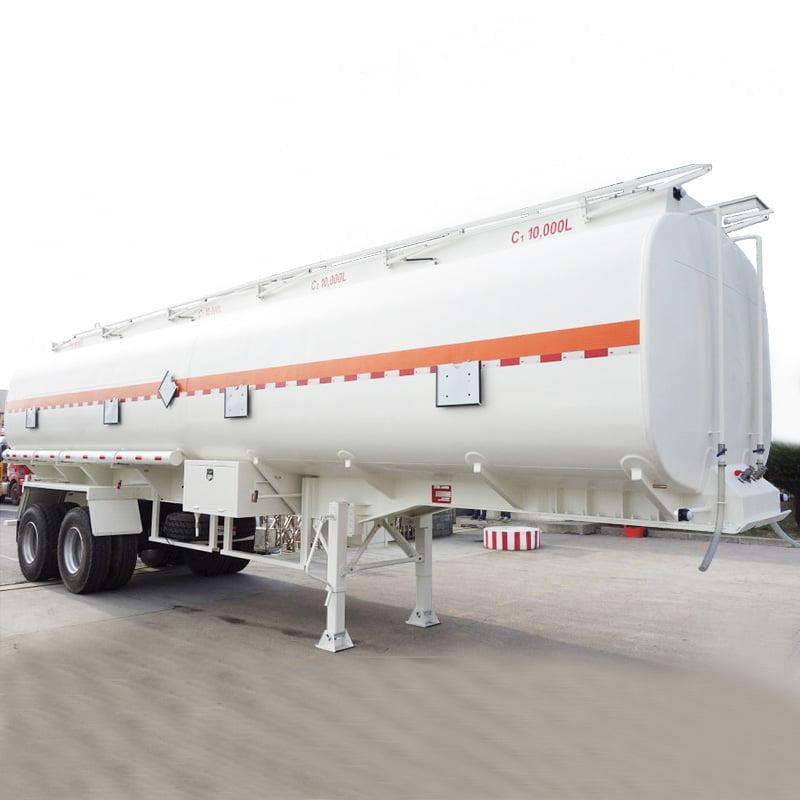 2 axle bogie suspension tanker trailer