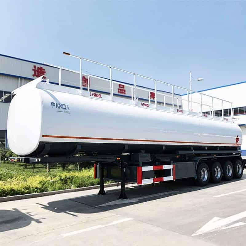 45000l 4axle tanker trailer