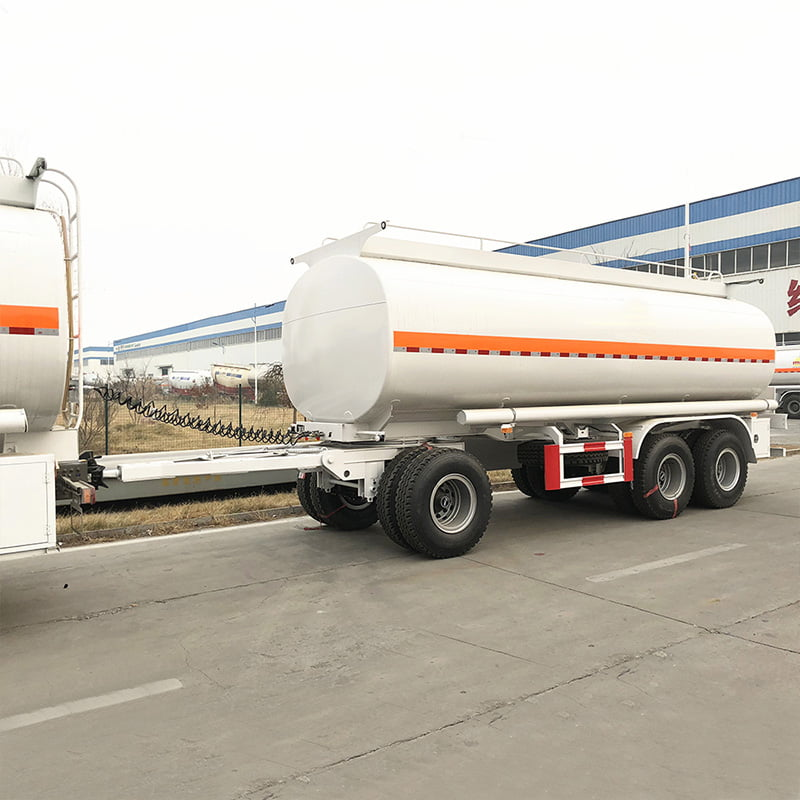 25000l a double tanker trailer