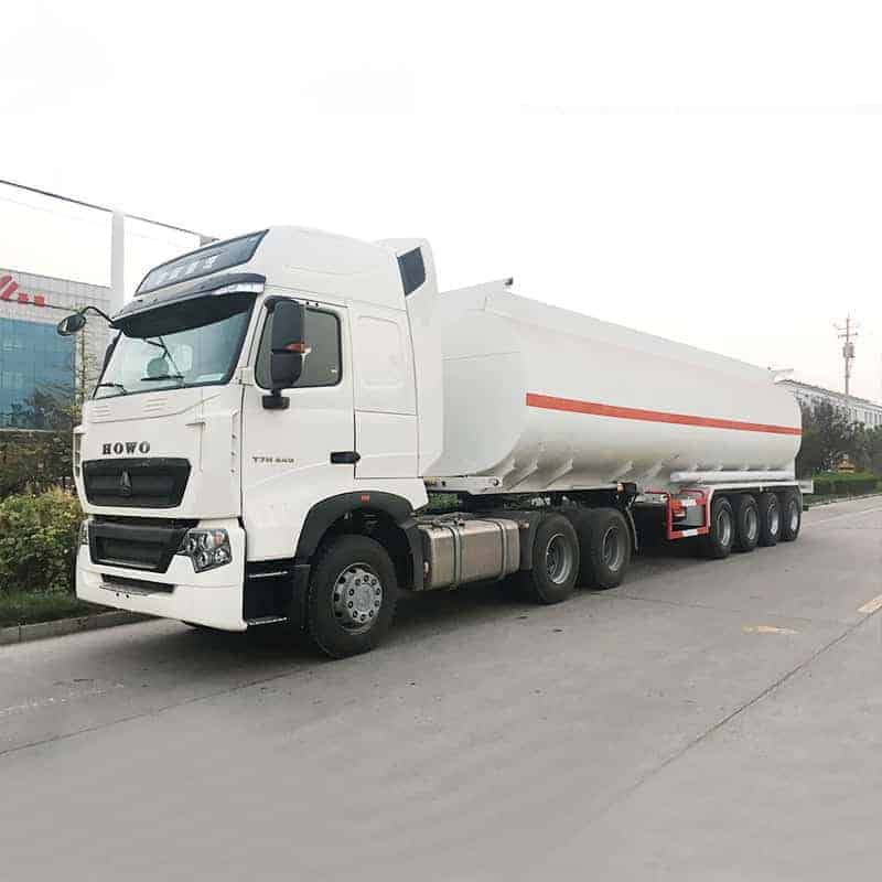 48000l 4axle tanker trailer