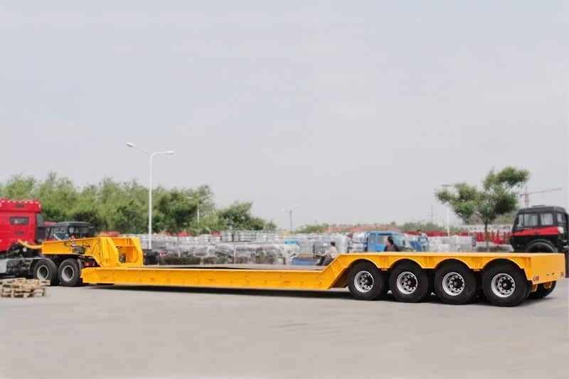4 axle 70 ton detachalbe trailer